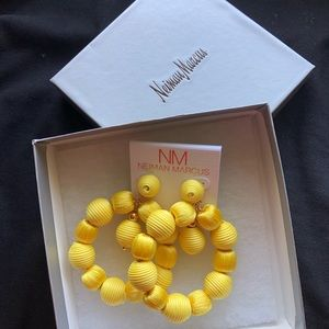 YELLOW earrings from NM